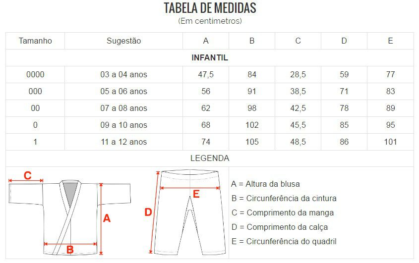 Kimono Karate Oxford - Branco - Infantil - Shiroi - Loja do Competidor