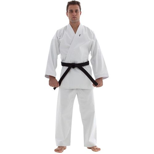 Kimono Karate - Medium Canvas -  Branco - Adulto - Shiroi - - Loja do Competidor