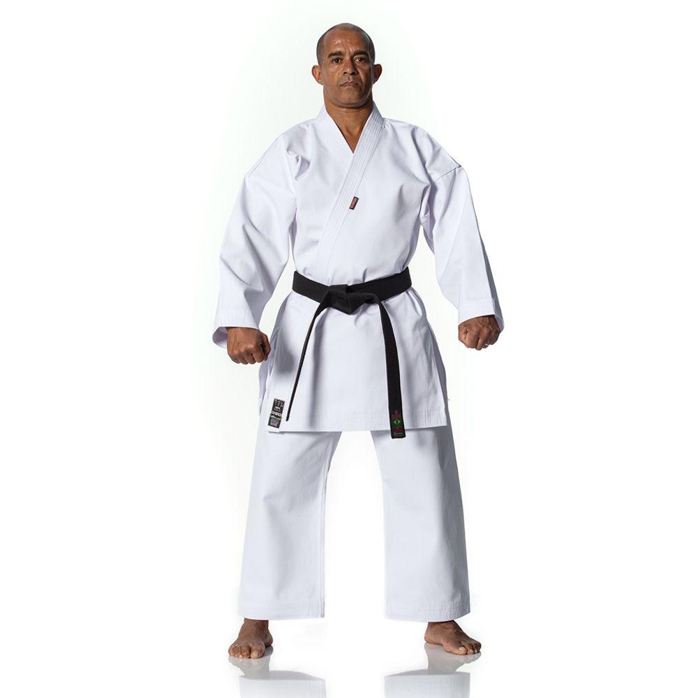 Kimono Karate - Medium Canvas -  Branco - Adulto - Shiroi -  - Loja do Competidor