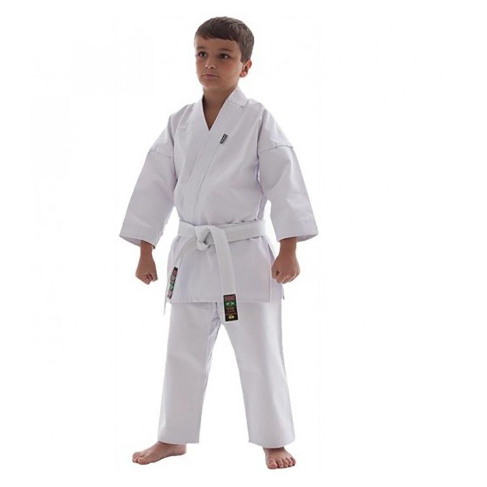 Kimono Karate - Medium Canvas - Branco - Infantil - Shiroi -  - Loja do Competidor