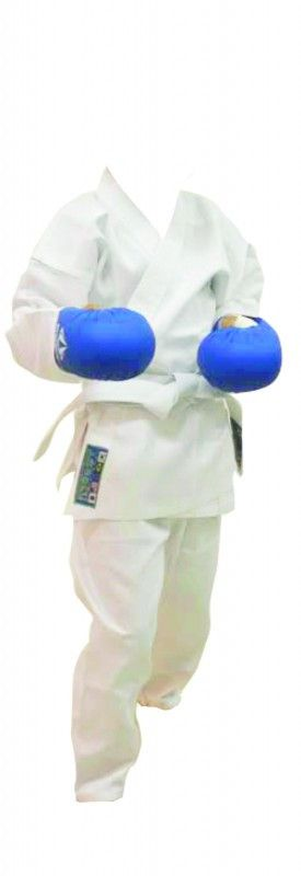Kimono Karate Pro Series - Branco - Infantil - Best Defense  - Loja do Competidor