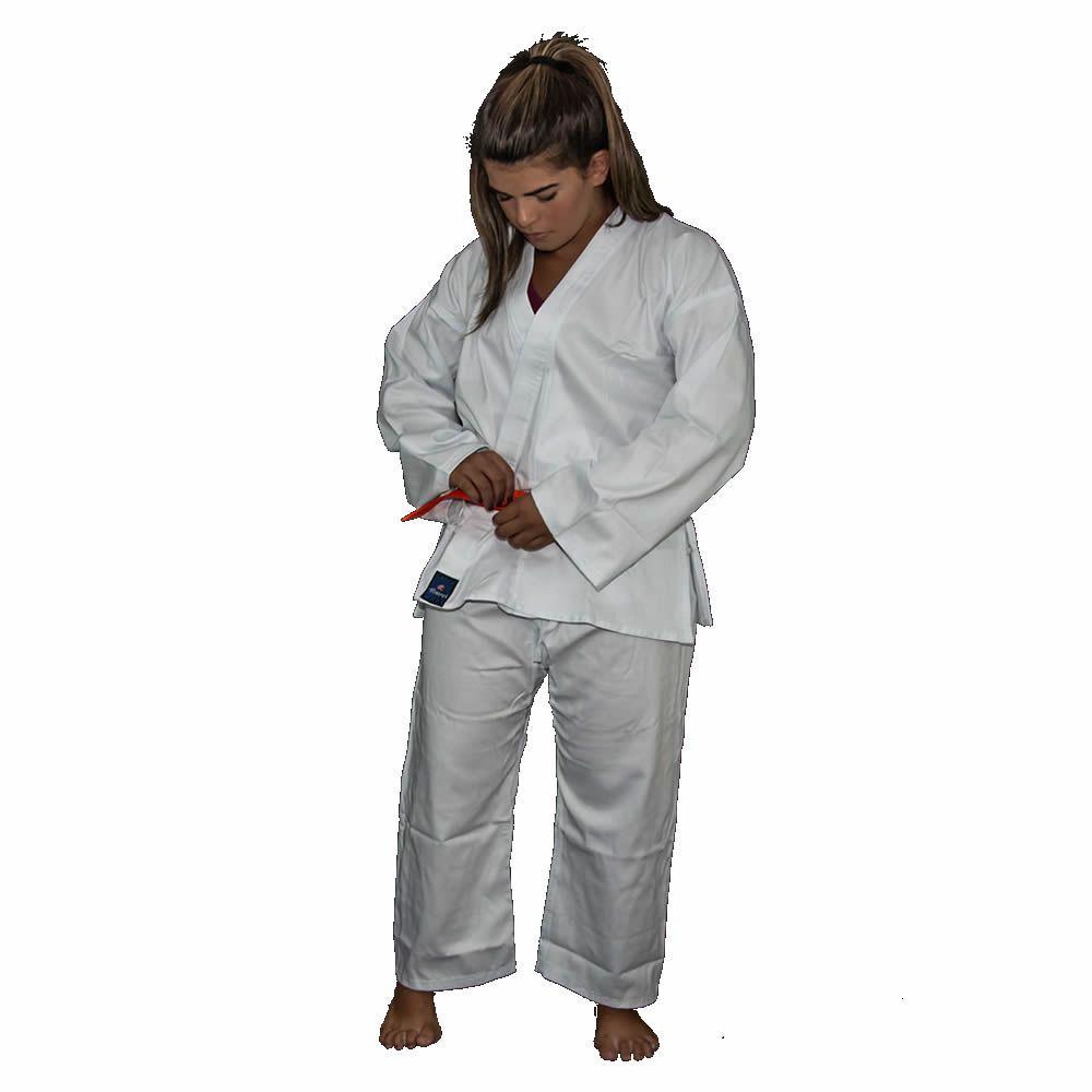 Kimono Karate Reforçado - Flex - Infantil - Torah  - Loja do Competidor