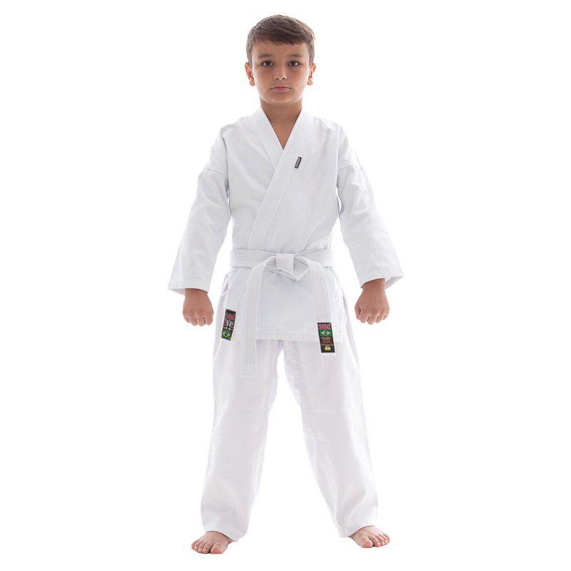 Kimono Karate Start - Branco - Infantil - Shiroi -