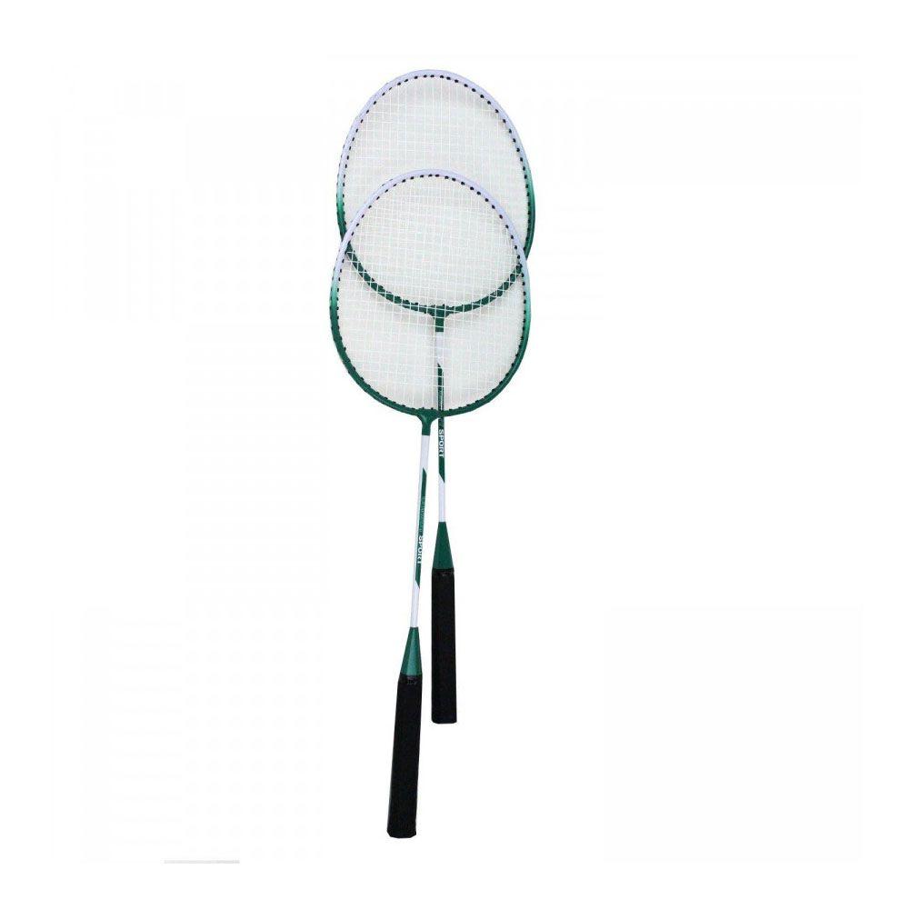 Kit 2 Raquetes Badminton + 2 Petecas -Profissional - Convoy  - Loja do Competidor