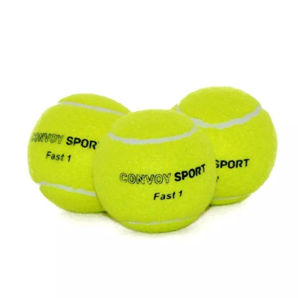 Kit Bola de Tênis - Sport - 3 Unidades - YS37005 - Convoy