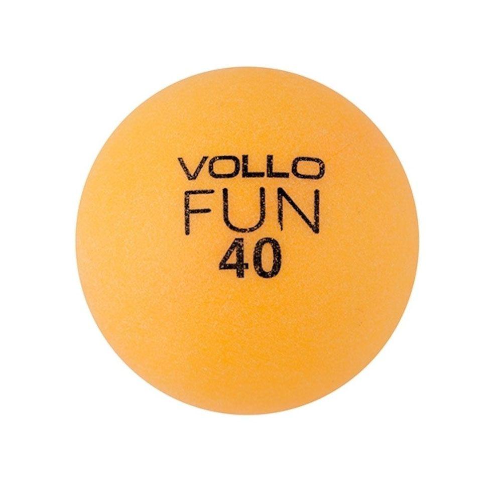 Kit Bola Tenis de Mesa Ping Pong - 100 bolas Vollo Fun 40mm - Loja do ... 17569a77f7013