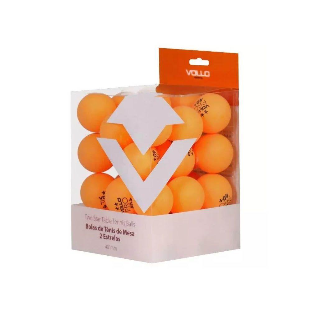 Kit Bola Tenis de Mesa Ping Pong - 36 bolas - 2 Estrelas - Vollo