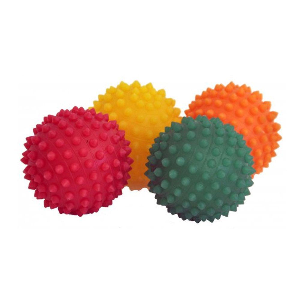 Kit Bolas Fisiobol Anti-stress - Fisioterapia- Cravo - 12 Unids - Pentagol  - Loja do Competidor