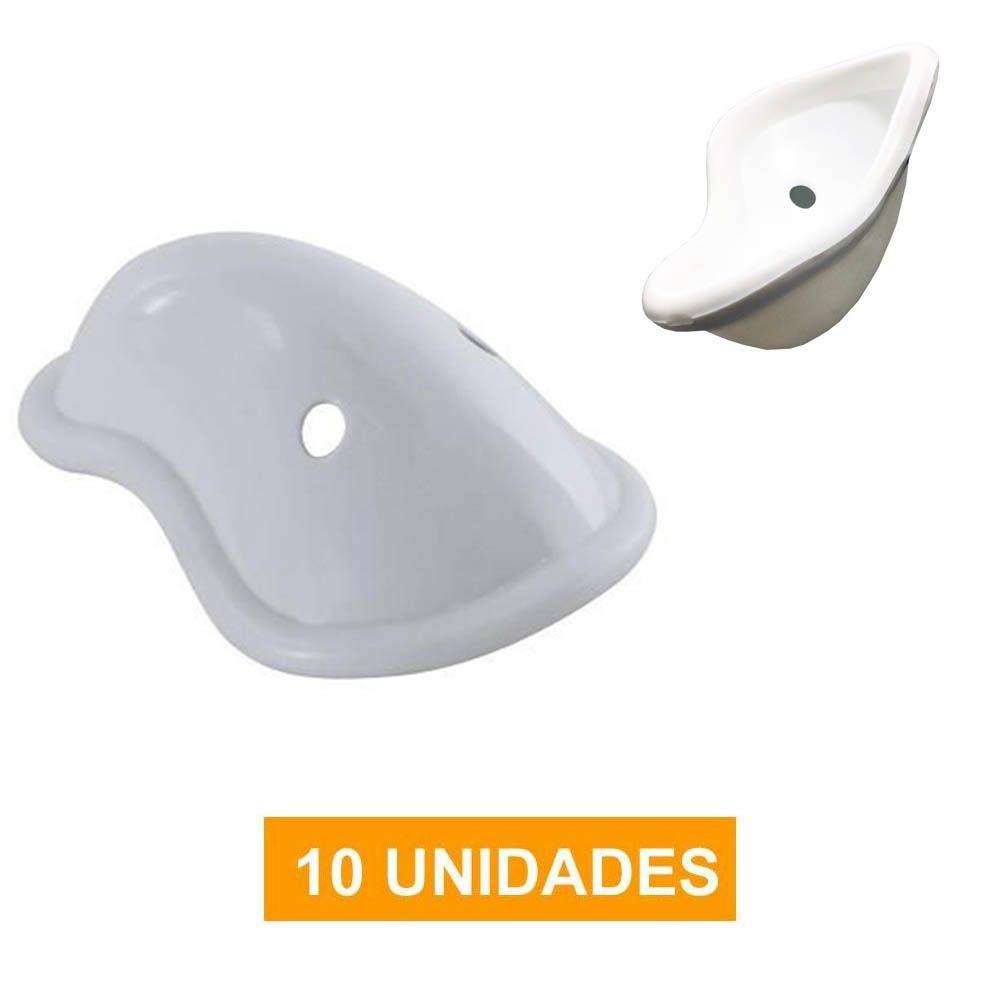 Kit com 10 Protetores Genitais / Coquilha - Concha Acrílica- Dogma