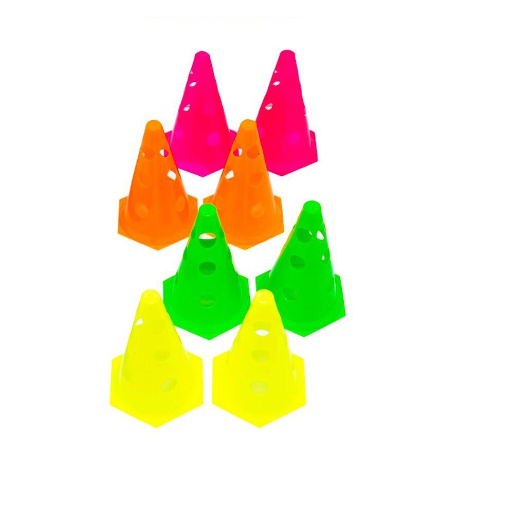 Kit com 10  unids Cone Perfurado para Circuito - 23 cm - TRK