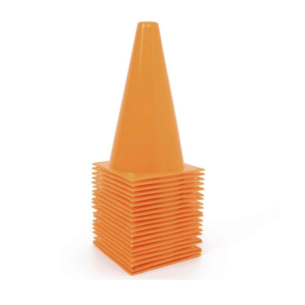 Kit com 25  unids Cone para Circuito - 24 cm - TRK  - Loja do Competidor