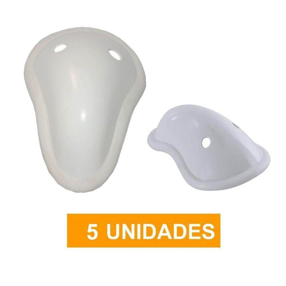 Kit com 5 Protetores Genitais / Coquilha - Concha Acrílica- Dogma