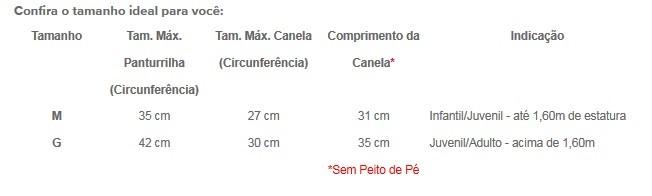 Kit de Caneleira Anatomica com Peito de Pe Fixo - Toriuk - 10 Pares  - Loja do Competidor