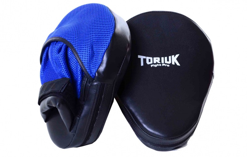 Kit de Luvas de Foco / Manopla de Soco Fight Pro - Toriuk - 5 Pares