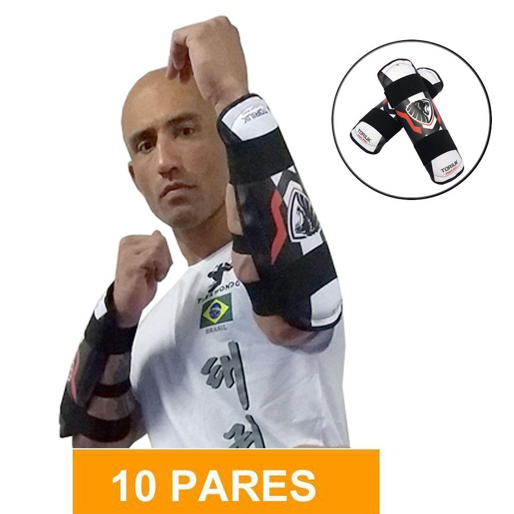 Kit Elite de Protetores de Antebraço - Lion - Toriuk - 10 Pares
