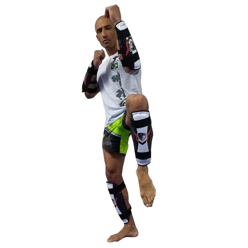 Kit Elite - Protetor de Canela + Antebraço - Lion - Toriuk -  - Loja do Competidor