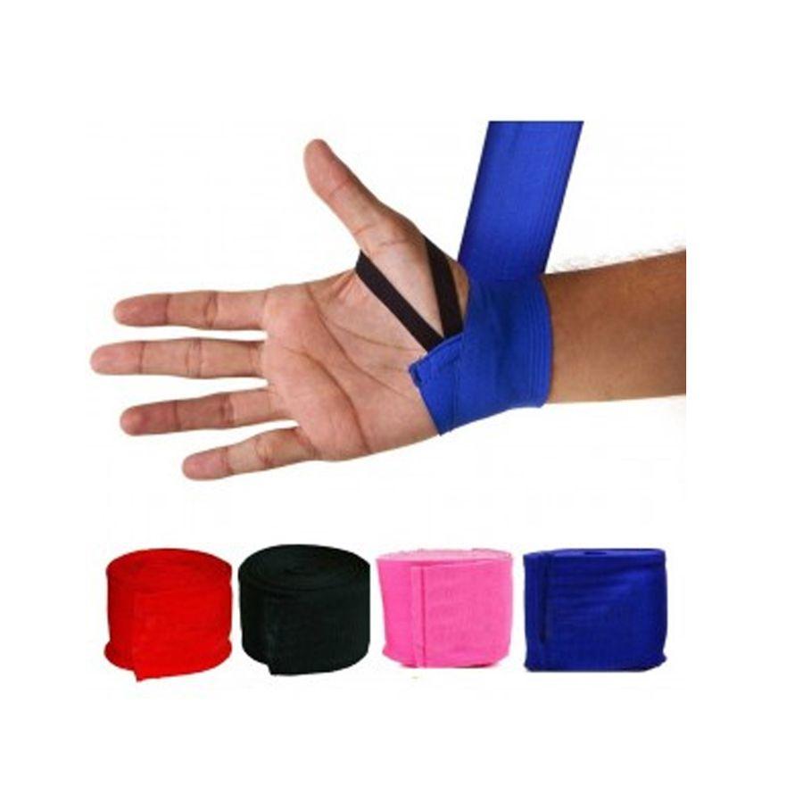 Kit Luvas de Boxe + Bandagem Elastica + Protetor Bucal  - Loja do Competidor