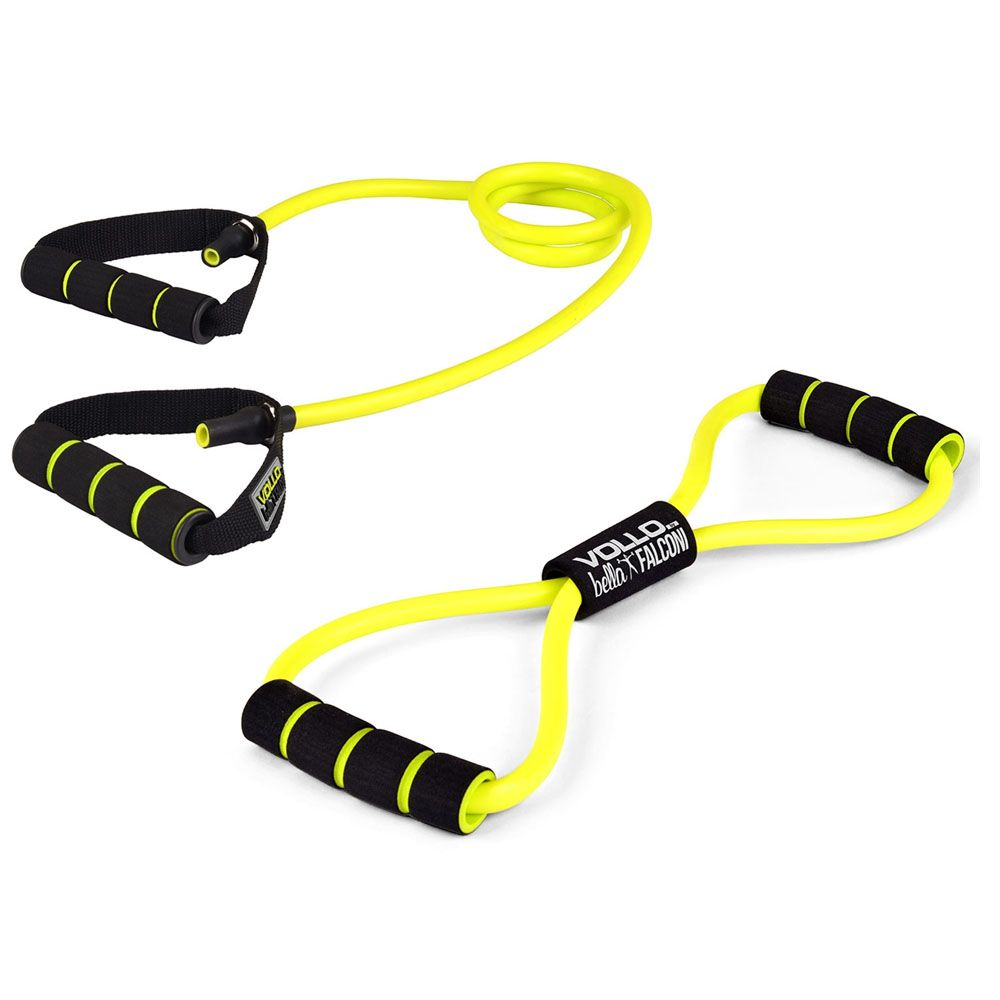 Kit Fitness Multifuncional Bella Falconi - Extensor Corda e Handgrip - VP1025 - Vollo  - Loja do Competidor