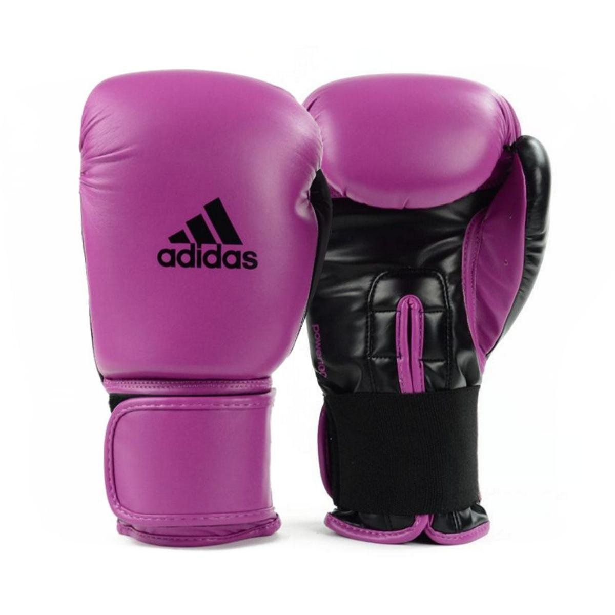 Luvas Boxe Muay Thai - Adidas Power 100 - Rosa - 14 OZ