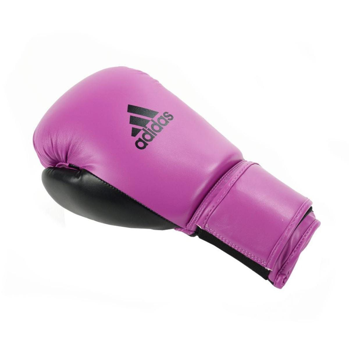 Luvas Boxe Muay Thai - Adidas Power 100 - Rosa - 14 OZ  - Loja do Competidor
