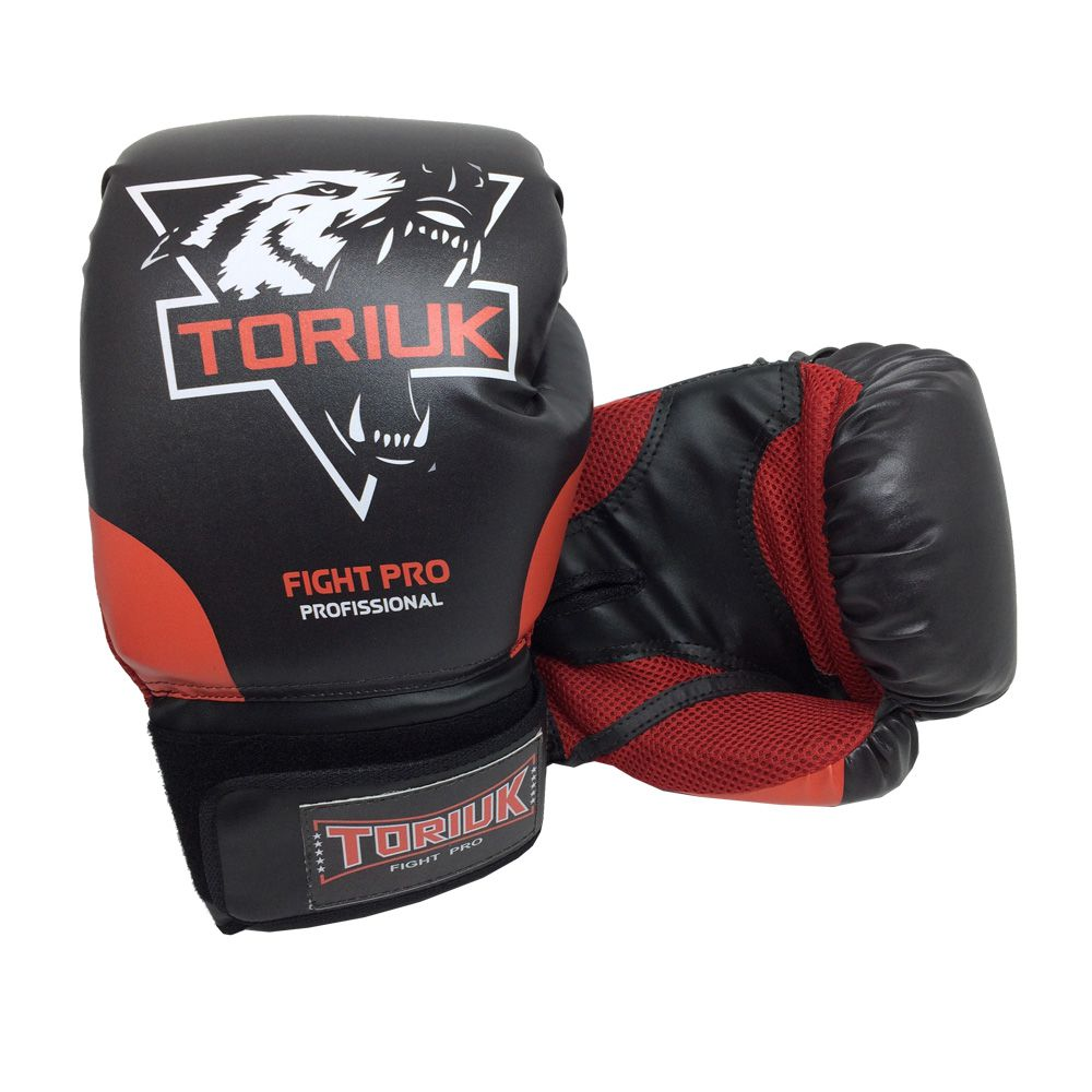 Kit Luvas de Boxe Lobo Elite + Bandagem 3m + Bucal Superior  - Loja do Competidor