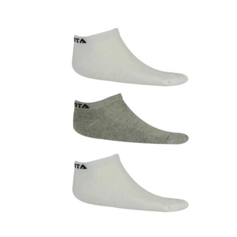 Kit Meia Casual- Soquete - 3 Pares - Masculino - Finta