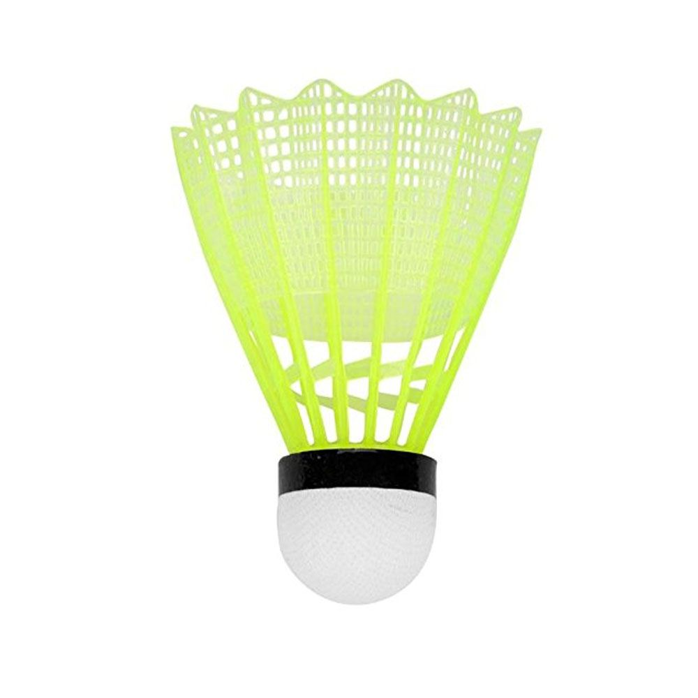 Peteca para Badminton - Nylon - 6 Unidades - Vollo