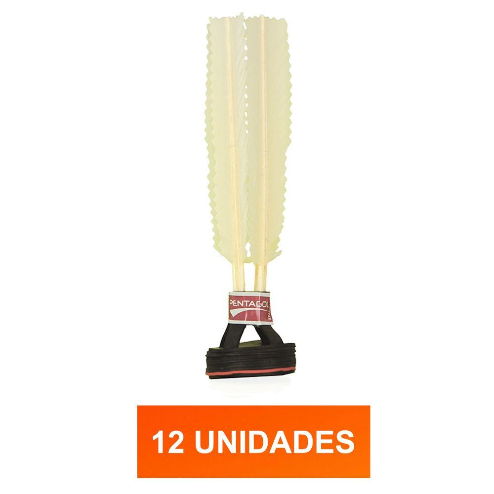 Kit Peteca Branca - Oficial Standart - 12 Unidades - Pentagol