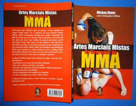 Livro Artes Marciais Mistas - Os Segredos do MMA -  - Loja do Competidor