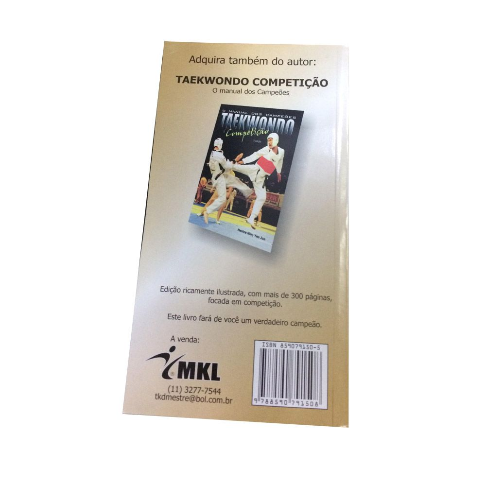 Livro Taekwondo de Bolso - Manual dos Iniciantes - Yeo Jun Kim -  - Loja do Competidor