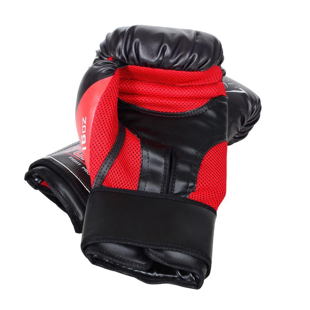 Luva de Boxe Muay Thai Elite Pro - Lobo - 08 a 16 OZ - Toriuk  - Loja do Competidor