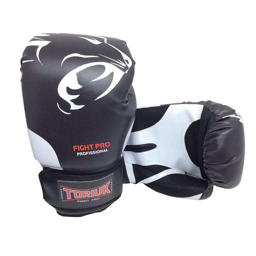 Luva de Boxe Muay Thai Elite Pro - Pantera - 08 a 16 OZ - Toriuk