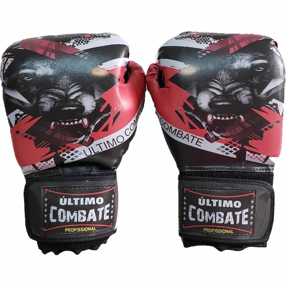 Luva de Boxe Muay Thai Lobo Wolf - 14 OZ - UC