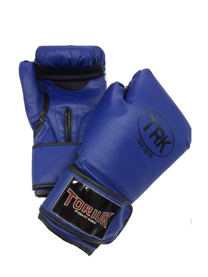 Luva de Boxe Toriuk Air Cool - Azul - 08/10/12/14/16 OZ - Frete Grátis