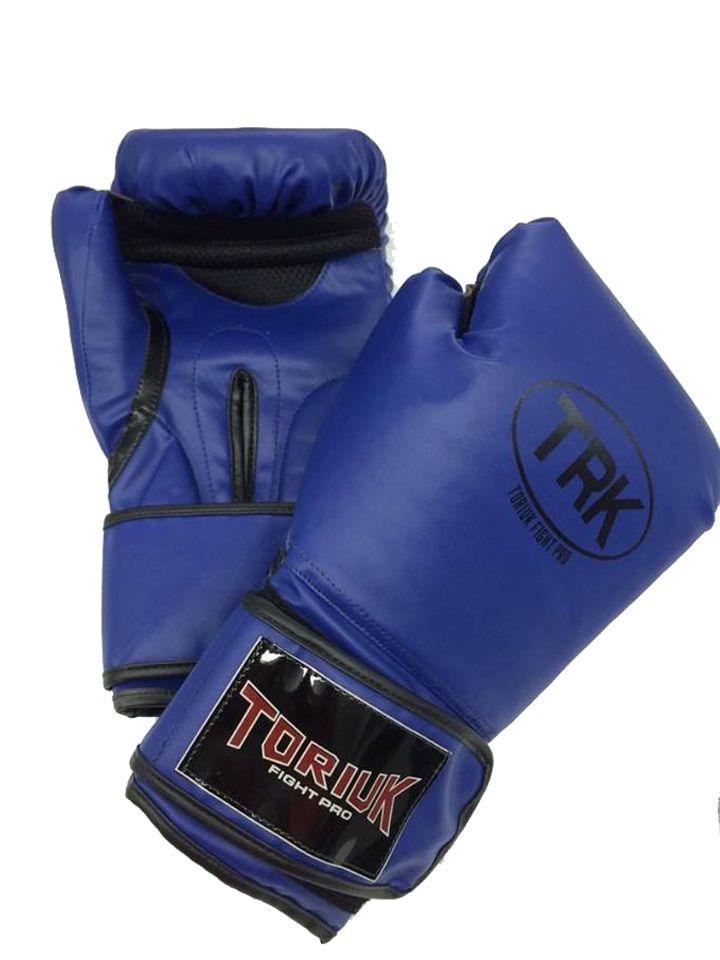 Luva de Boxe Toriuk Air Cool - Azul - 08/10/12/14/16 OZ  - Loja do Competidor