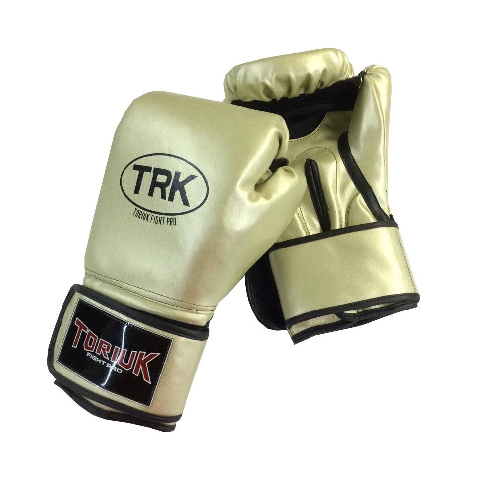 Luva de Boxe Toriuk Air Cool - Dourada - 08/10/12/14/16 OZ