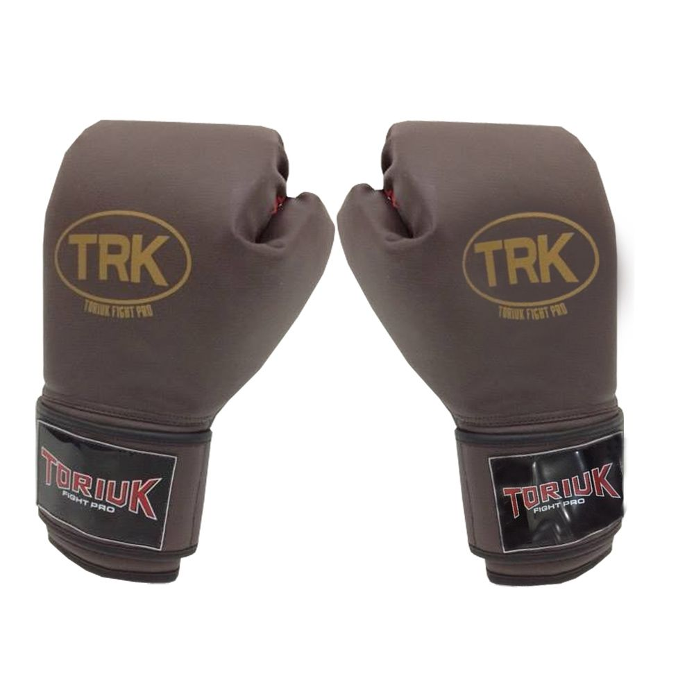 Luva de Boxe Toriuk Air Cool - Marrom - 08/10/12/14/16 OZ  - Loja do Competidor