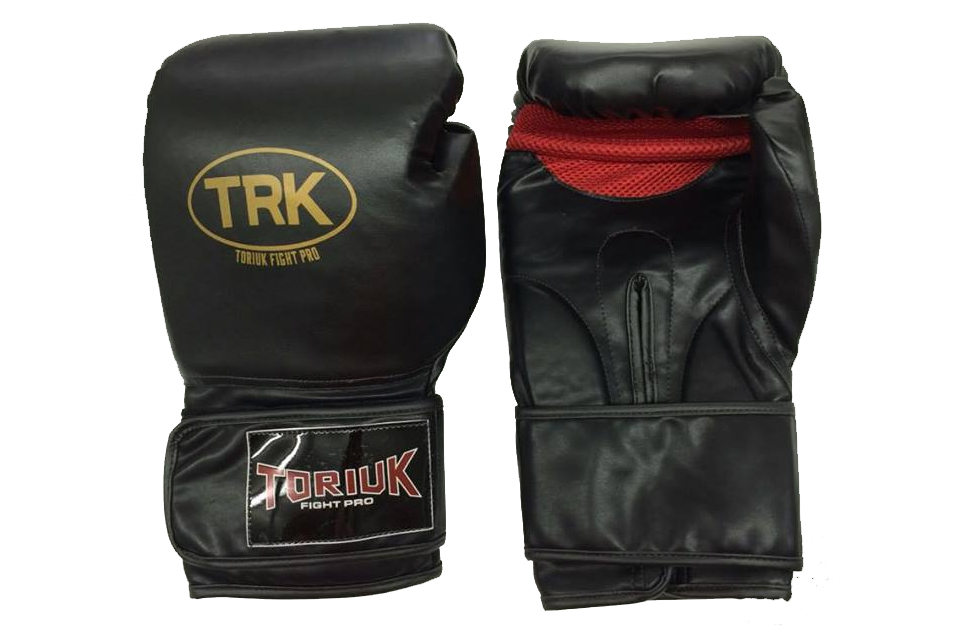 Luva de Boxe Toriuk Air Cool - Preta - 08/10/12/14/16 OZ  - Loja do Competidor