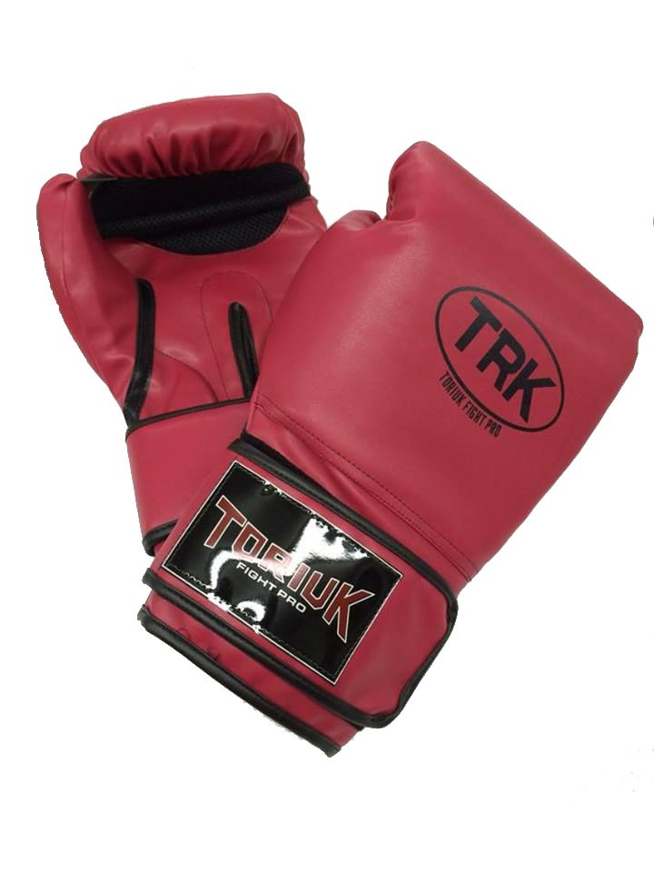 Luva de Boxe Toriuk Air Cool - Vermelha - 08/10/12/14/16 OZ