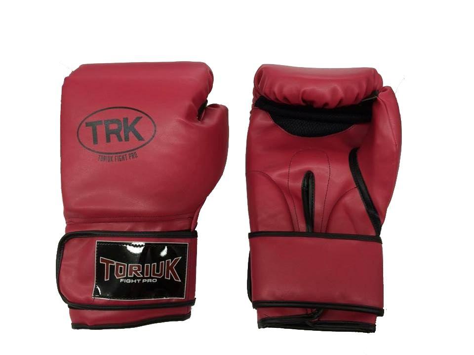 Luva de Boxe Toriuk Air Cool - Vermelha - 08/10/12/14/16 OZ  - Loja do Competidor