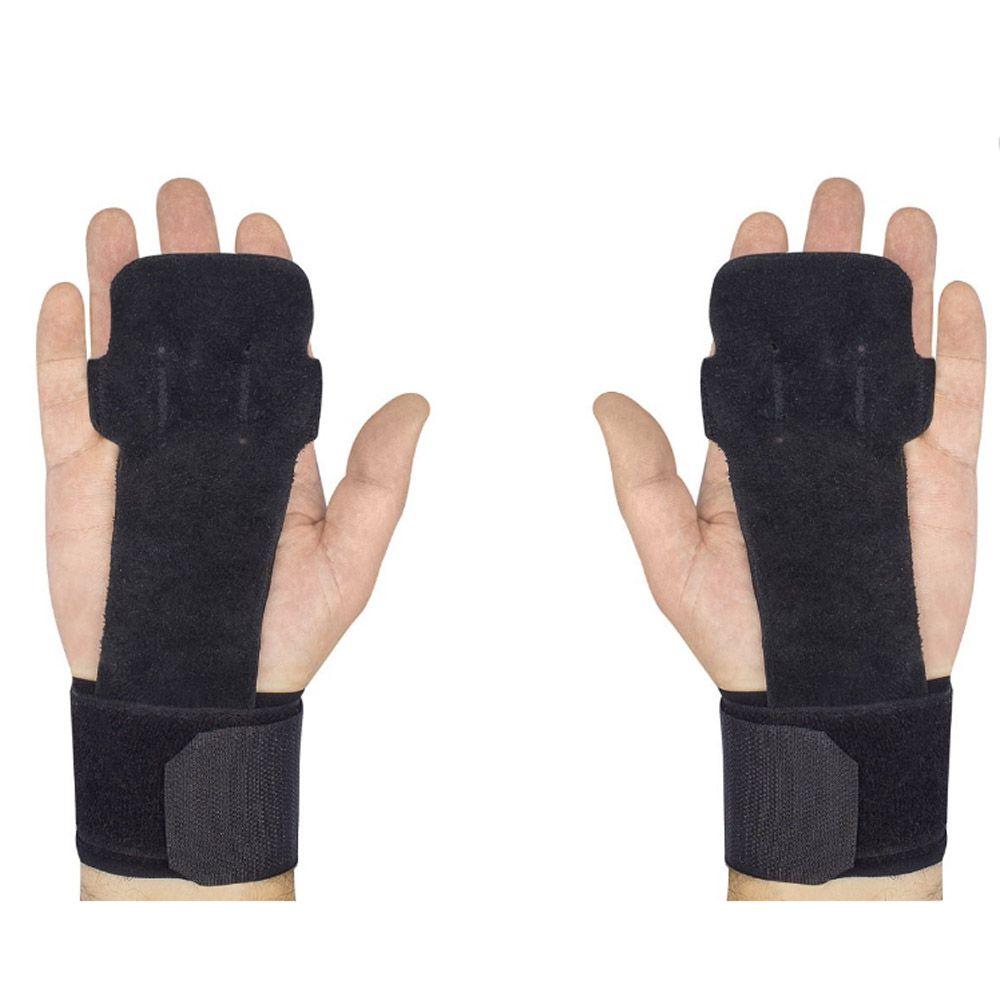 Luva/ Fita /Straps de Pegada - Musculação/Crossfit - Grip Leather - Par  Progne