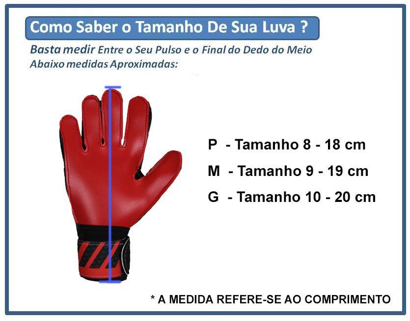 Luva Goleiro Futebol Campo Titanium - Adulto - Pentagol  - Loja do Competidor