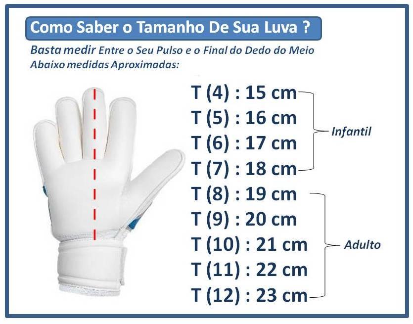 Luva Goleiro Futsal Pro - Adulto - 8 / 9 / 10 - Finta  - Loja do Competidor
