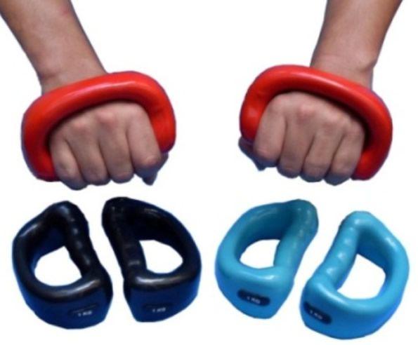 Luva Halter 1 Kg - Par -  Musculação/ Treinamento Funcional .  - Loja do Competidor