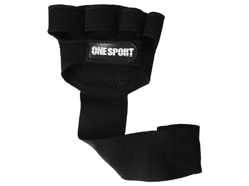 Luva para Musculação e Fitness - Com Bandagem - OSP3 -  One Sport .  - Loja do Competidor