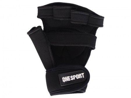 Luva para Musculação e Fitness - Palma em Couro - OSP7 - One Sport .  - Loja do Competidor