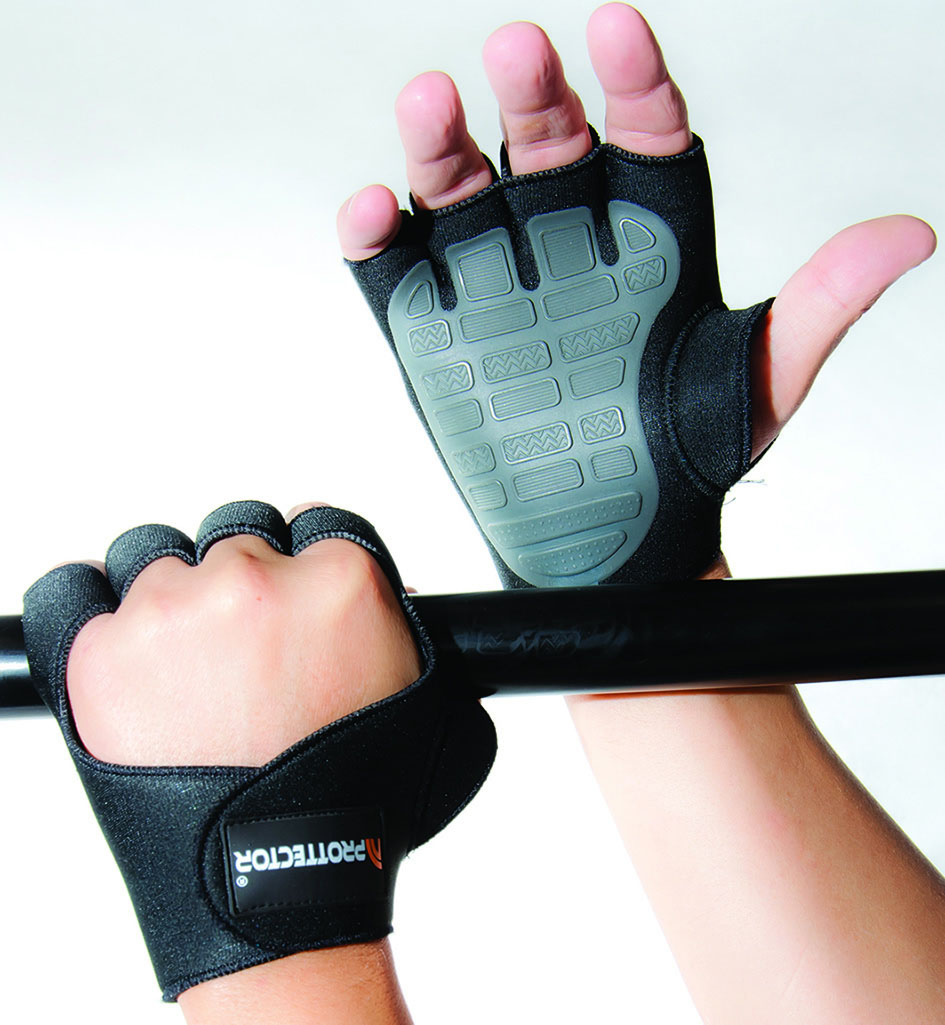 Luva para Musculação e Fitness -Prottector - Gel - Dogma