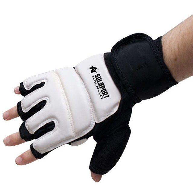 Luva Protetor Mão Taekwondo - WTF - Oficial CBTKD - Sulsport -