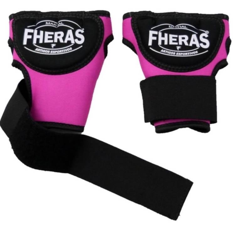 Luvas Bandagem de Gel - Feminino - Fheras  - Loja do Competidor