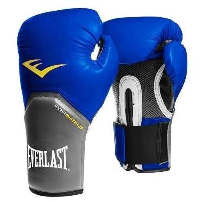 Luvas Boxe / Muay Thai - Elite  Evershield - Azul - Everlast